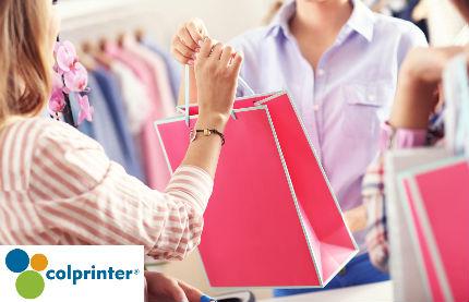 Elija las bolsas ideales para su negocio con Colprinter.