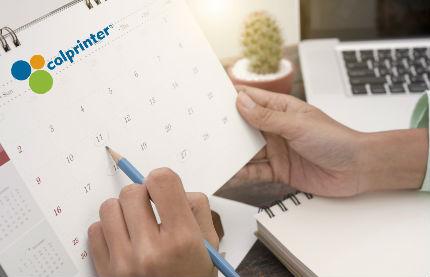 Calendarios corporativos para publicidad de marca