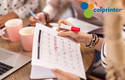 Los almanaques son elementos de uso cotidiano que pueden comunicar de forma directa los valores de su empresa